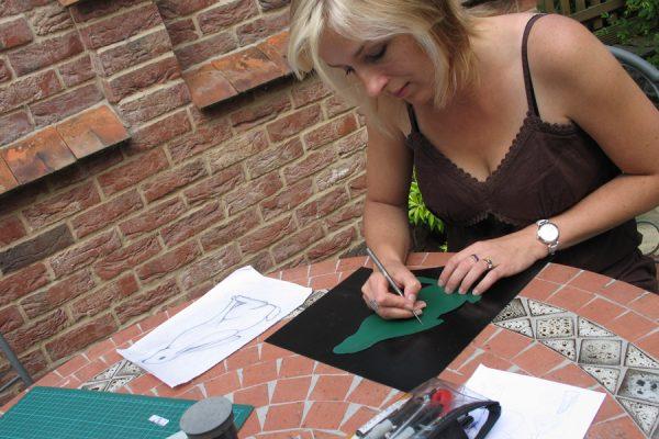 Sharon drawing